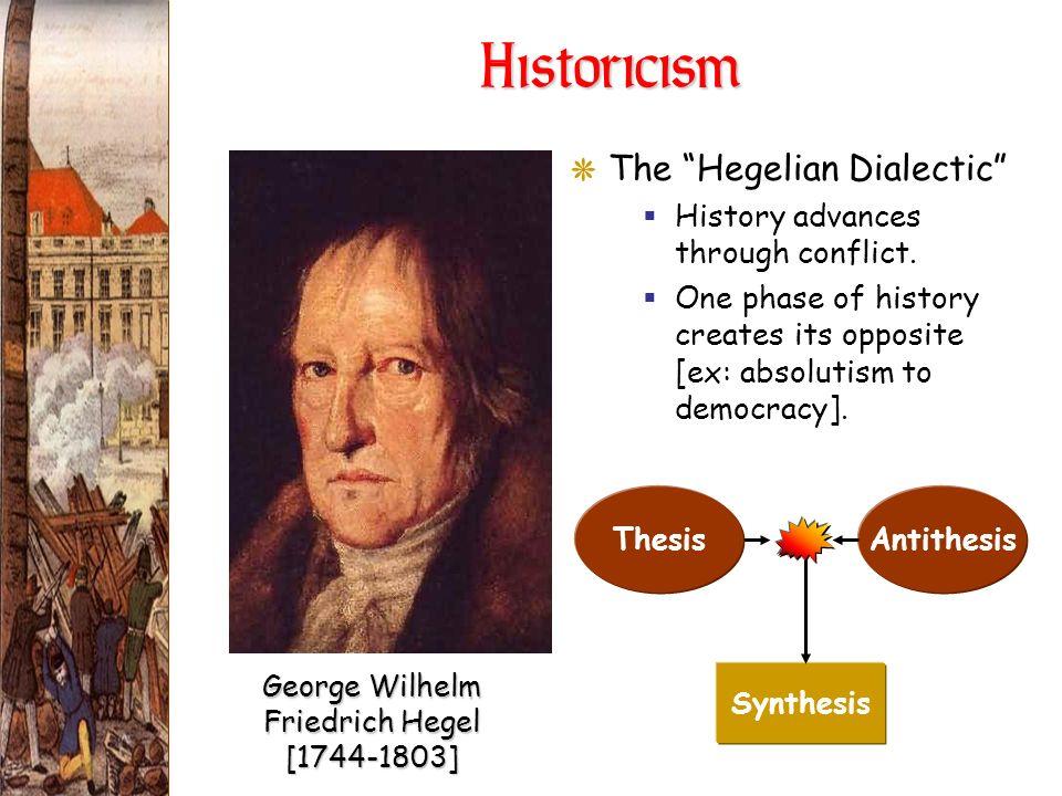 George Wilhelm Friedrich Hegel [1744-1803]